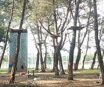ANTALYA GENÇLİK VE SPOR İL MÜDÜRLÜĞÜ Duacı Kampı Macera Parkı çalışmaları başladı