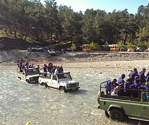 ANTTUR-UNICITY ve Jeep Safari - Uçansu Şelalesi gezisi
