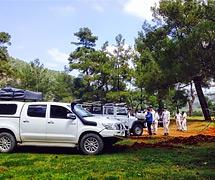 CORENDON ve MACAW Yazılım Jeep Raft, Paintball ve Macera Parkında eğlendiler